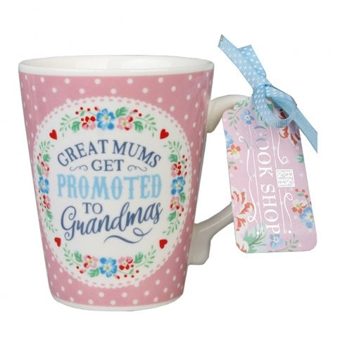 History & Heraldry Great Mums Get Promoted (Grandma) Mug