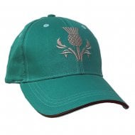 Green Thistle Scotland Baseball Cap