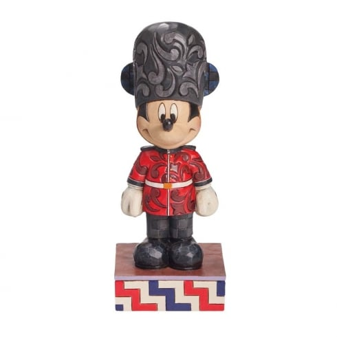 Disney Traditions Greetings From England Mickey Mouse Figurine