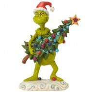 Grinch Stealing Tree Figurine