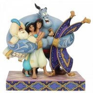 Disney Traditions Group Hug! (Aladdin Figurine)