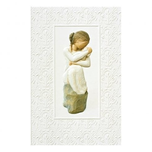 Willow Tree Guardian Greeting Card With Message