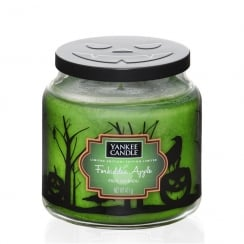 Halloween Medium Jar Candle Forbidden Apple