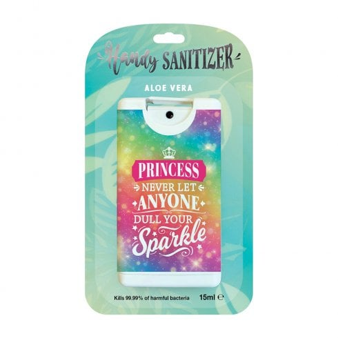 History & Heraldry Hand Sanitizer Princess - Never let anyone dull your sparkle