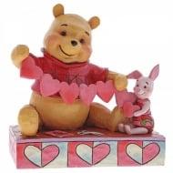 Handmade Valentines Pooh & Piglet