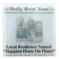 Happiest Home On Planet Photo Frame Coaster