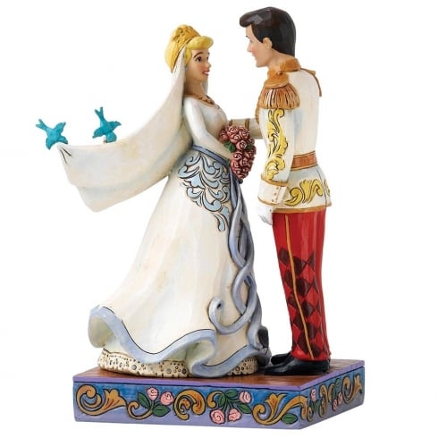 Disney Traditions Happily Ever After Cinderella & Prince Figurine