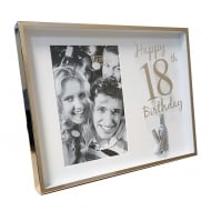 Happy 18th Birthday 4 x 6 Photo Frame