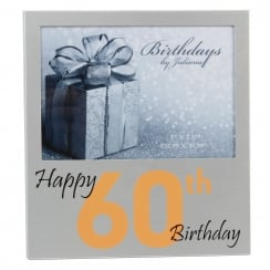 Happy 60th Birthday Frame