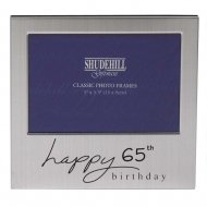 Happy 65th Birthday 5 x 3.5 Photo Frame
