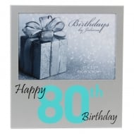 Happy 80th Birthday Frame