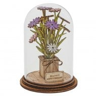 Happy Anniversary Flower Figurine