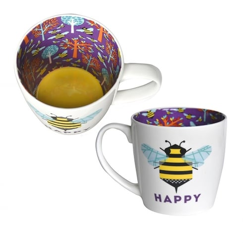 Two Up Two Down Happy (Bee) Mug