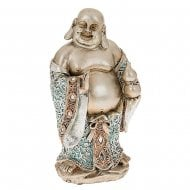 Happy Blue Buddha Stand Medium