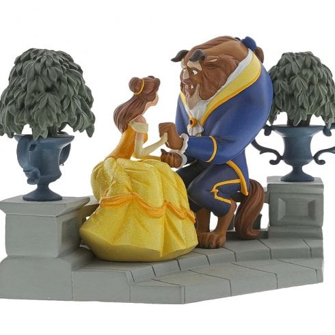 Disney Enchanting Collection Happy Here Beauty & The Beast Figurne