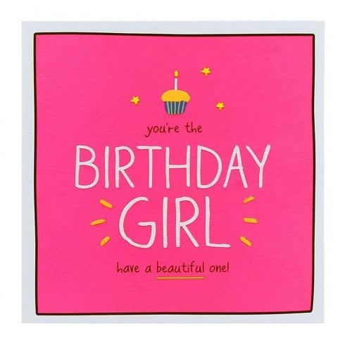 Pigment Happy Jackson BIRTHDAY GIRL have a beautiful one! Card