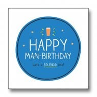 Happy Jackson - Happy Man Birthday Card GF8070A