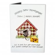Happy New Mortgage! New Home Moose Card