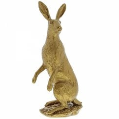 Hare Large Gold Figurine