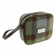 Harris Tweed Almond Mini Bag in MacLeod Tartan LB1210-COL15