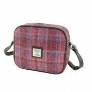 Harris Tweed Almond Mini Bag in Pink Check LB1210-COL103