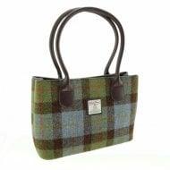 Harris Tweed Cassley Classic Handbag in MacLeod Tartan LB1003-COL15