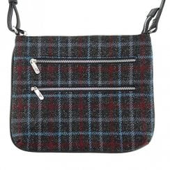 Harris Tweed Multi Zip Bag