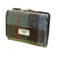 Harris Tweed Small Purse - Unst - Gunn Tartan