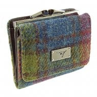 Harris Tweed Small Purse - Unst - Multicolour