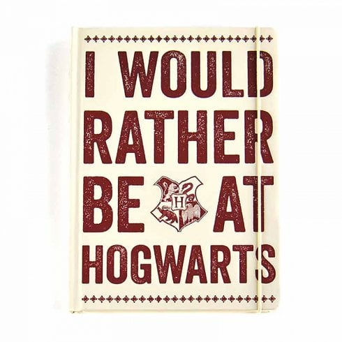 Half Moon Bay Harry Potter A5 Notebook Hogwarts Slogan