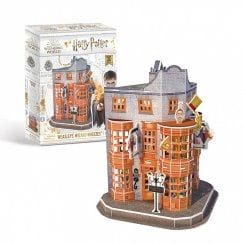 Harry Potter Diagon Alley Weasleys Wizard Wheezes 3D Puzzle