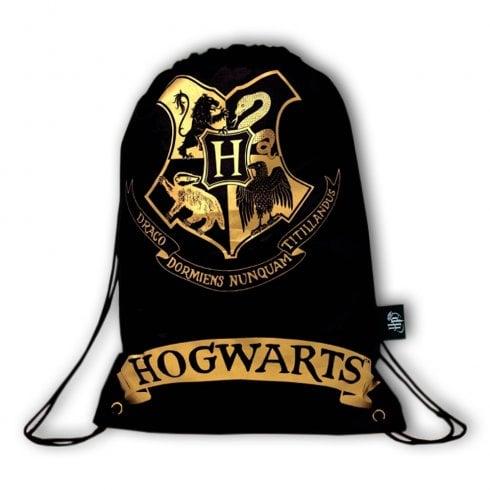 Blue Sky Designs Ltd Harry Potter Drawstring Bag Black