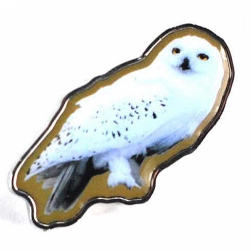 Half Moon Bay Harry Potter Enamel Pin Badge Hedwig