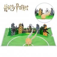 Harry Potter Golden Snitch Hand Made Pop Up Card
