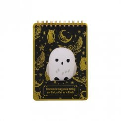 Harry Potter Hedwig Owl Skwisheez A6 Notebook