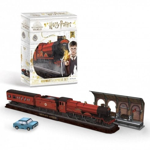 Paul Lamond Games Harry Potter Hogwarts Express Set 3D Puzzle