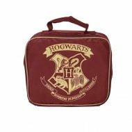 Harry Potter Hogwarts Lunch Bag Burgundy/Gold