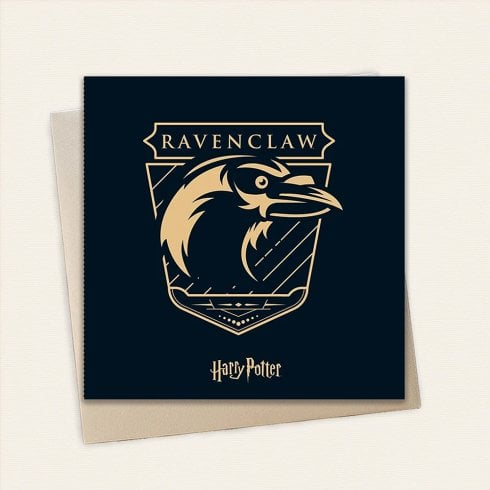 Cardology Harry Potter House Ravenclaw Greeting Card