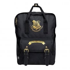 Harry Potter Premium Backpack Black and Gold