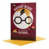 Harry Potter Reversible Sequin Birthday Card 25517757