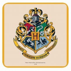 Harry Potter Single Coaster Hogwarts Crest