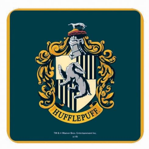 Half Moon Bay Harry Potter Single Coaster Hufflepuff