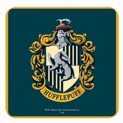 Harry Potter Single Coaster Hufflepuff