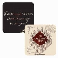 Harry Potter Single Coaster Marauders Map