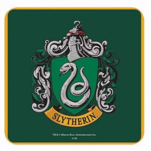 Half Moon Bay Harry Potter Single Coaster Slytherin