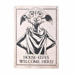 Harry Potter Small Tin Sign Dobby