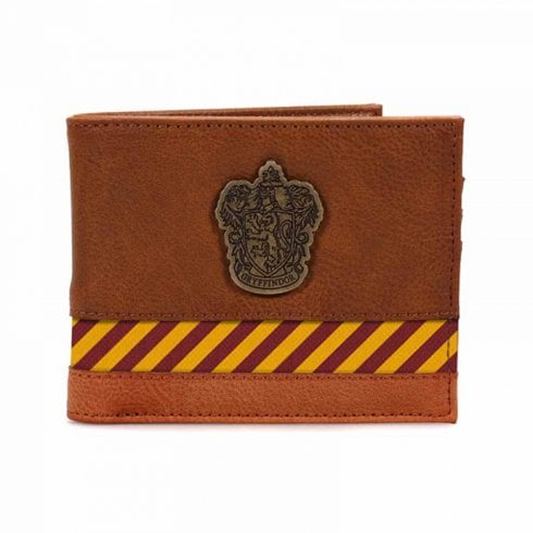 Half Moon Bay Harry Potter Wallet Hogwarts Metal Crest