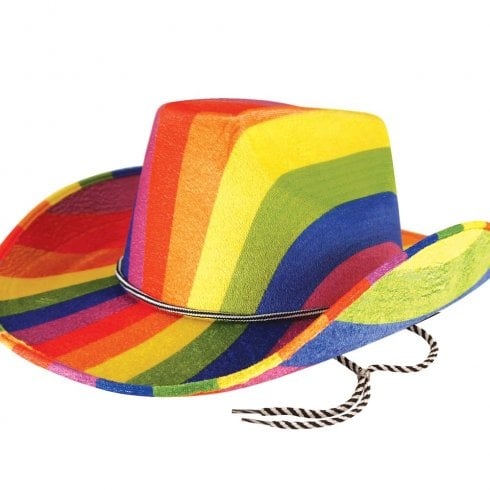 Wicked Costumes Hat Cowboy Pride Adult