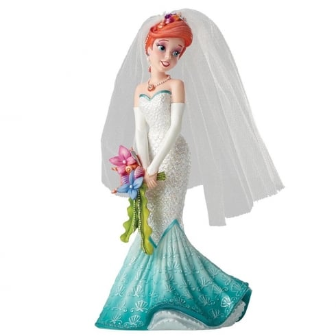 Disney Showcase Haute-Couture Bridal Collection Ariel Wedding Figurine