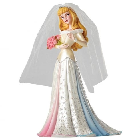 Disney Showcase Haute-Couture Bridal Collection Aurora Wedding Figurine